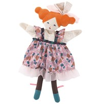 Moulin Roty The Alluring Dame Hand Puppet Pink