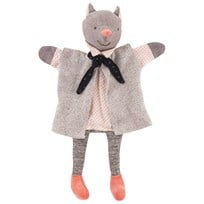 Moulin Roty The Gallant Cat Hand Puppet Grey