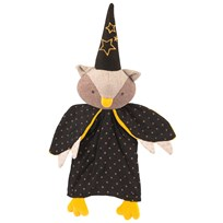 Moulin Roty The Owl Magician Hand Puppet Black