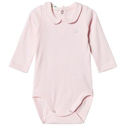 United Colors of Benetton Logo Polo Baby Body Pink