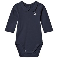 United Colors of Benetton Logo Polo Baby Body Navy Navy