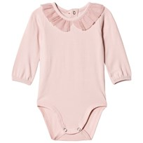 United Colors of Benetton L/S Body With Tulle Coller Detail Pink Pink