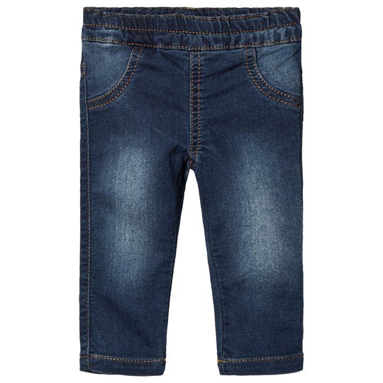 United Colors of Benetton Washed Denim Jeggings Blue Blue