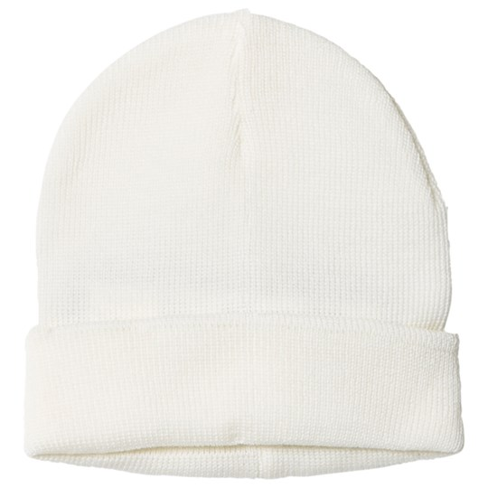 United Colors of Benetton Knitted Wool Hat White White