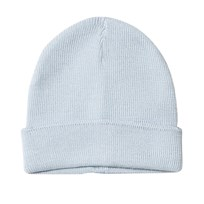 United Colors of Benetton Knitted Wool Hat Light Blue Light Blue