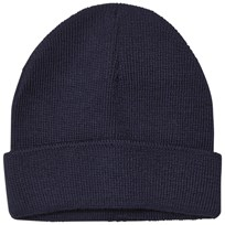 United Colors of Benetton Knitted Wool Hat Navy Navy