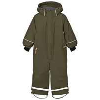 eBBe Kids Texas Snowsuit Moss Green Mossgreen