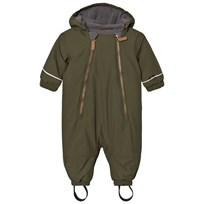 eBBe Kids Timo Baby Wintersuit Moss Green Mossgreen