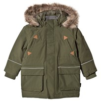 eBBe Kids Twain Winter Parkas Moss Green Mossgreen