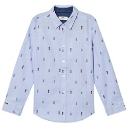 Cyrillus Pale Blue Long Sleeve Shirt