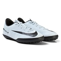 NIKE MercurialX Victory VI CR7 Junior Turf Football Boots BLUE TINT/BLACK-WHITE-BLUE TINT