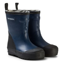 Tenson Rubber Wellies Dark Blue Marinblå