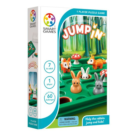 Smart Games Jump In White
