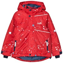 Muddy Puddles Blizzard Winter Jacket Red Interstellar Red Interstellar