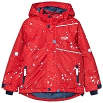 Muddy Puddles Red Interstellar Blizzard Ski Jacket Red Interstellar