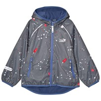 Muddy Puddles EcoSplash Hooded Jacket Dark Grey/Interstellar Interstellar