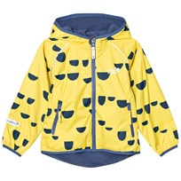 Muddy Puddles EcoSplash Hooded Jacket Yellow/Navy Hoof Yellow/Navy Hoof