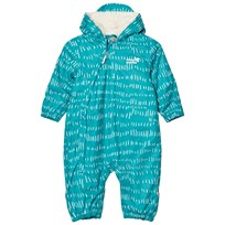 Muddy Puddles Baltic Stubble Field 3-in-1 Scamp Snowsuit Baltic/White field