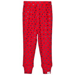 Muddy Puddles Clouds Base Layer Pants Red/Navy