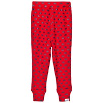 Muddy Puddles Red Navy Clouds Base layer Bottoms Red/Navy Clouds