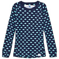 Muddy Puddles Navy with Baltic Clouds  Base Layer Sweater Navy/Baltic Clouds