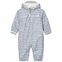 Muddy Puddles Grey and White Field 3 in 1 Scamp Hooded Snowsuit Grey/White Field