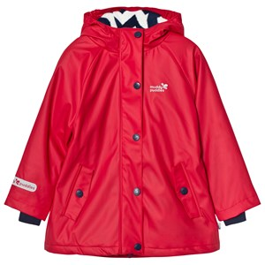 Image of Muddy Puddles Puddleflex New Hooded Jacket Red 2-3 years (791223)