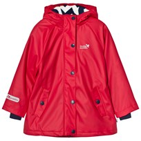 Muddy Puddles Puddleflex New Hooded Jacket Red Red