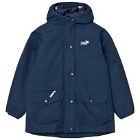 Muddy Puddles Navy Storm Explorer Hooded Jacket Navy