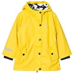 Muddy Puddles Puddleflex New Hooded Jacket Yellow