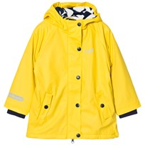Muddy Puddles Puddleflex New Hooded Jacket Yellow Yellow