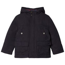 Cyrillus Navy and Blue 3 in 1 Hooded Coat and Bomber