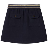 Cyrillus Navy Pocket Skirt 6399