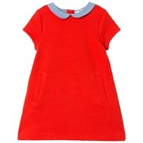 Cyrillus Red Short Sleeve Dress 6699