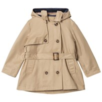 Cyrillus Beige Hooded Trench 6329