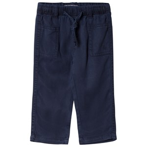 Image of Cyrillus Blue Lightwieght Pull Up Trousers 6 months (2767350121)