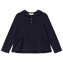 Cyrillus Navy Long Sleeve Top 6399
