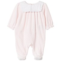 Cyrillus Pink with White Bib Detail Babygrow 6626