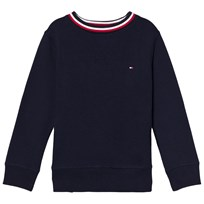 Tommy Hilfiger Navy Branded Jumper 431