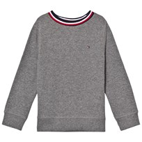 Tommy Hilfiger Grey Branded Jumper 053