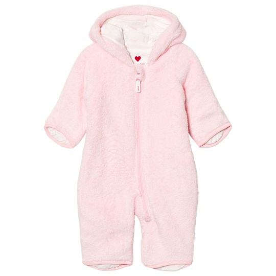 Reima Alku Fleece Overall Ljusrosa Pale Rose