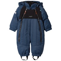 Lindberg Nepal Baby Overall Petroleum Blue