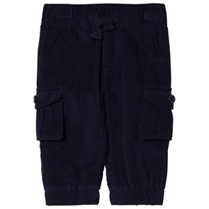 Image of Andy & Evan Navy Corduroy Joggers 3-6 months (2768284815)
