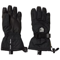 Hestra Gore-Tex Gauntlet Jr. - 5 Finger Black Black