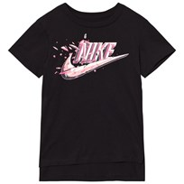 NIKE Black Swoosh Box Tee Black
