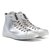 Converse Silver Junior Chuck Taylor All Star - Hi Silver