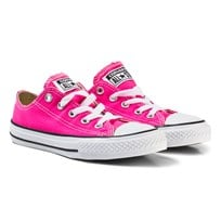 Converse Pink and White Kids Chuck Taylor All Star - OX Pink/White