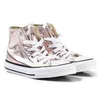Converse Pink Kids Chuck Taylor All Star - Hi Rose Quartz/White