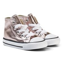 Converse Pink Infants Chuck Taylor All Star - Hi Rose Quartz/White