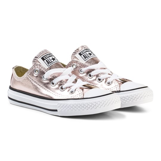 Converse Chuck Taylor All Star Seasonal Metallic Low Top Pink Rose Quartz/White